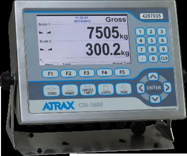CDI-1600 Digital Weight Indicator - Dual Scale Version | Image