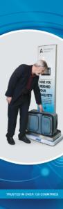 Atrax passenger self-check scale unit