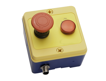 Atrax Control Box - 2 button (1 large)