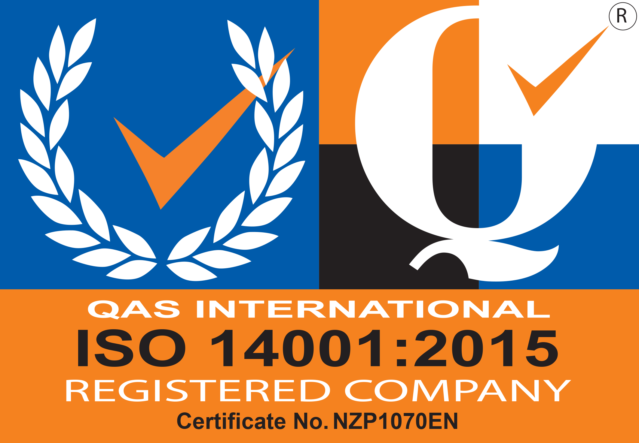 Atrax Group ISO Certification ISO 14001:2015 EMS icon