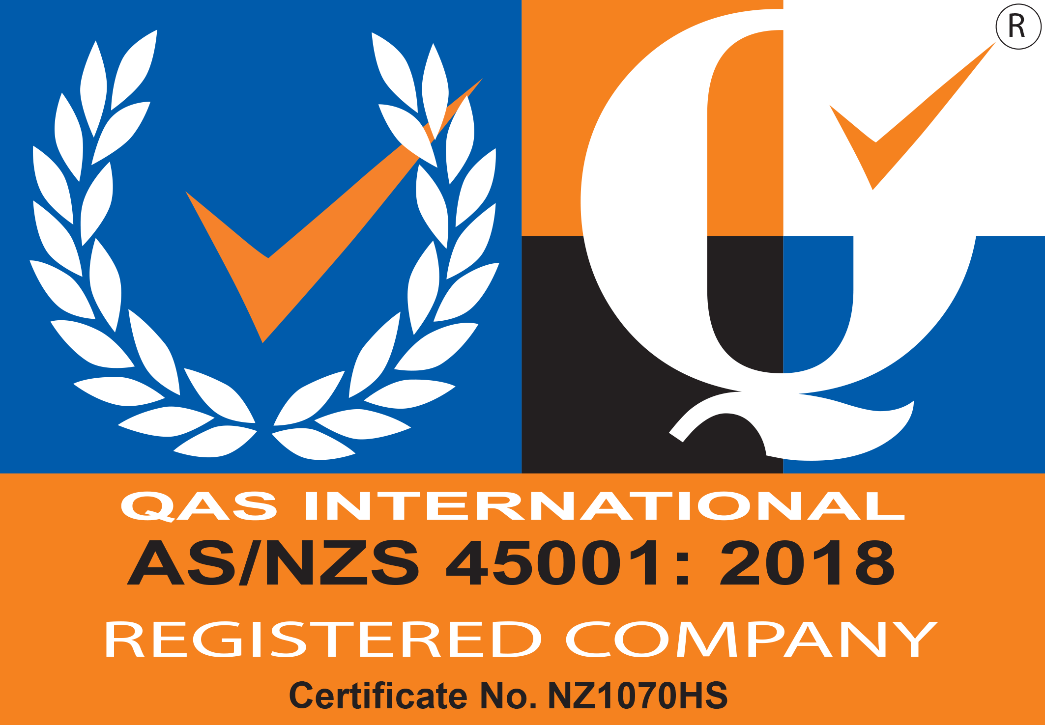 Atrax Group ISO Certification ISO 45001:2018 OHSMS icon