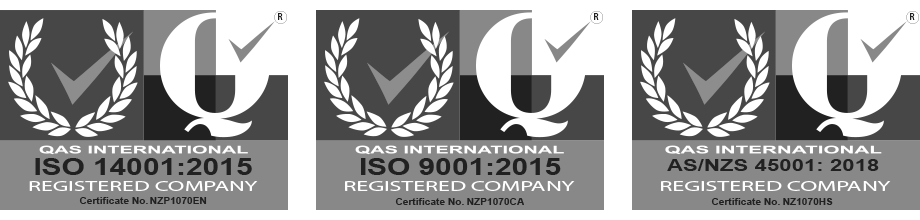 Atrax Group ISO certification icons 2020