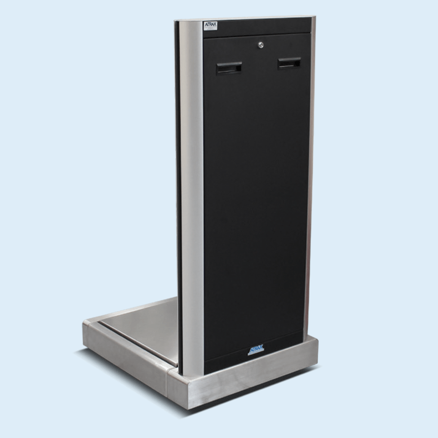 Atrax passenger self service scale - back