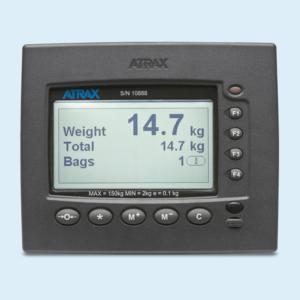 Atrax passenger self service scale - screen display
