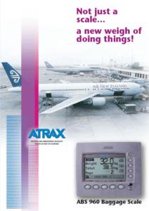 Atrax ABS 960 Brochure (1113) PDF | Thumbnail