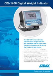 Atrax CDI-1600 DWI (rev 0816) PDF | Thumbnail