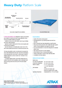 Atrax Pit Scale (Heavy-Duty) PDF | Thumbnail