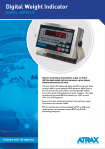 Atrax Model 480 Plus DWI (rev 0816) PDF | Thumbnail