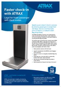 Atrax Self Service Scale (Legal for Trade SAN4022) PDF | Thumbnail