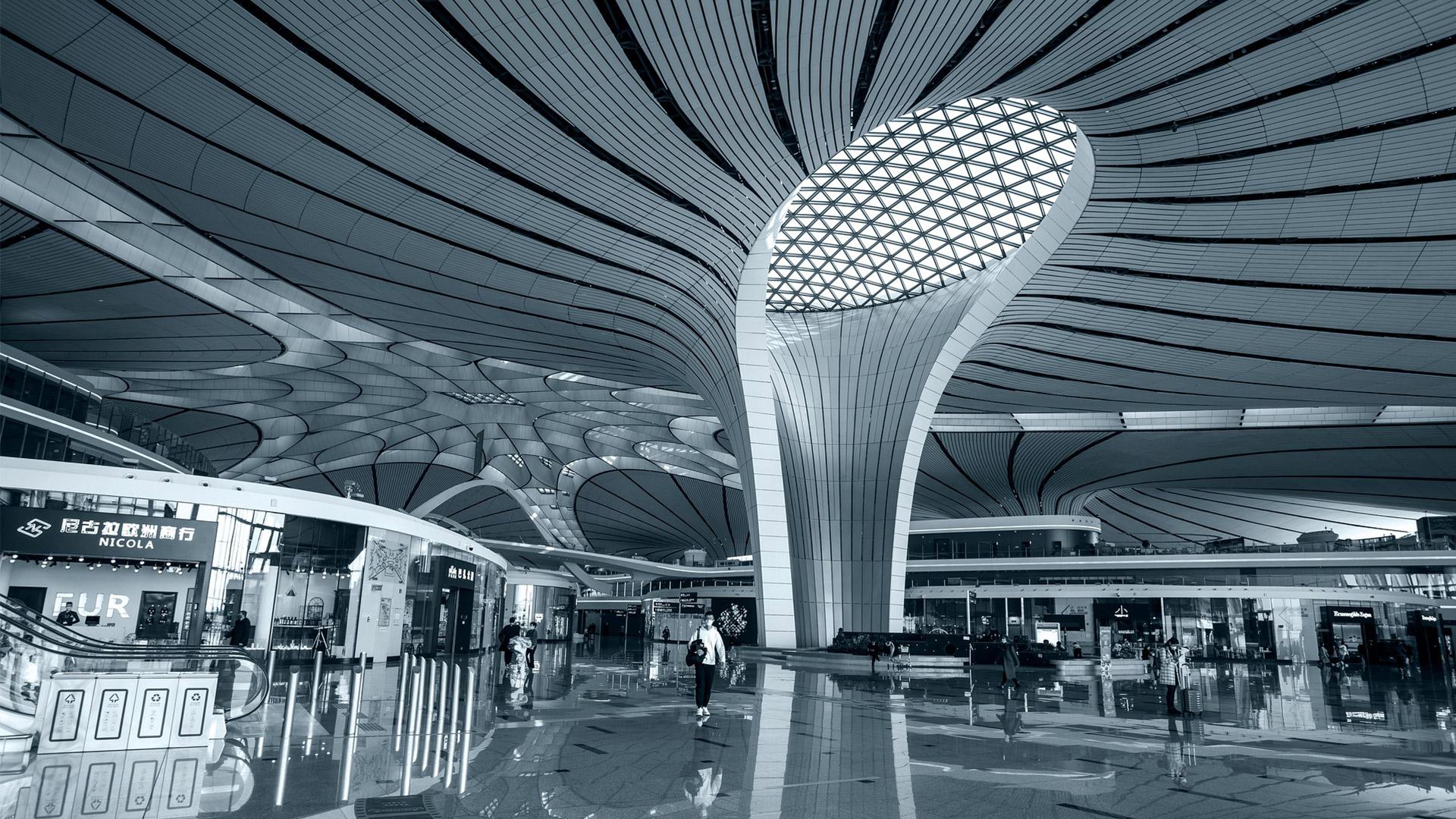 Beijing Daxing International Airport terminal | Rocksoldier Pixabay | 1920x1080