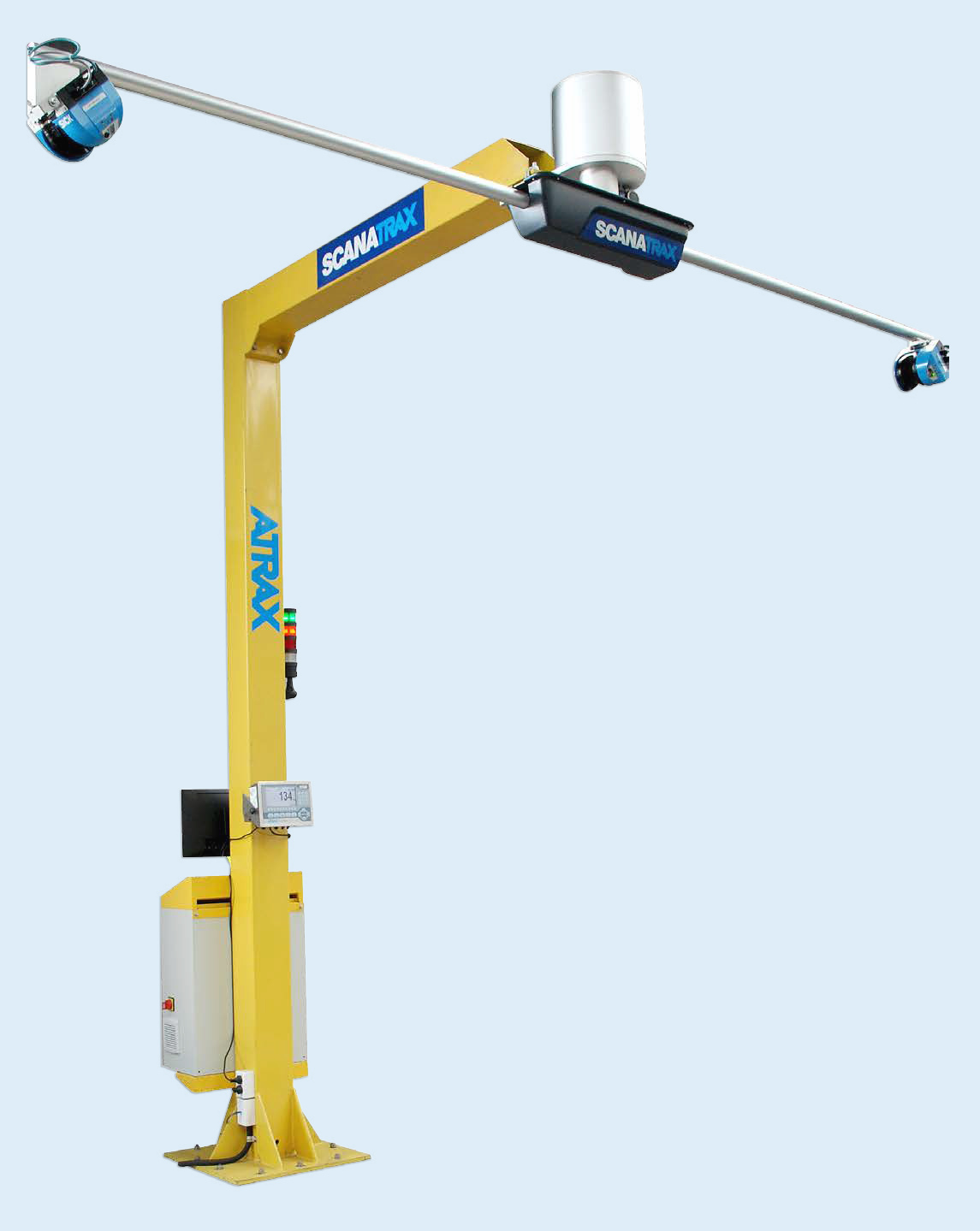 Atrax Scanatrax Cargo Dimensioning System - Main View   Dimensioning Products