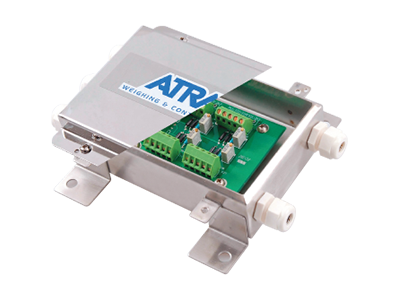 Atrax Components 1 Load Cell Summing Junction Box | LC 650-JB | Cargo Scales | 400x300