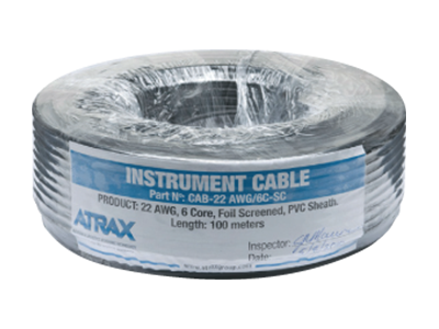Atrax Components 2 Load Cell Instrument Cable | Cargo Scales | 400x300