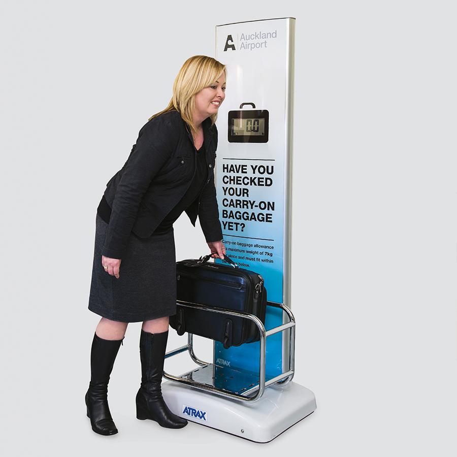 Atrax Digital Cabin Bag Check Unit | Airport Baggage Scales | 900sq