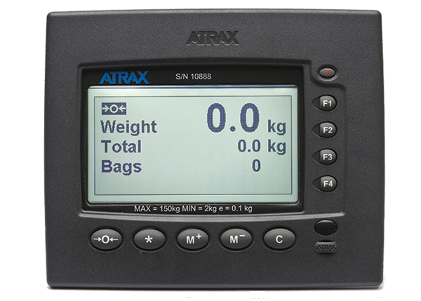 Atrax Scale Display: Operator Panel | Airport Baggage Scales